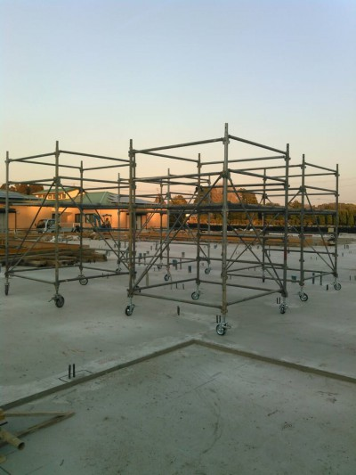 《袖ケ浦市 新築工場 ローリングタワー》